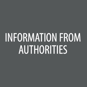 Information from Authorities