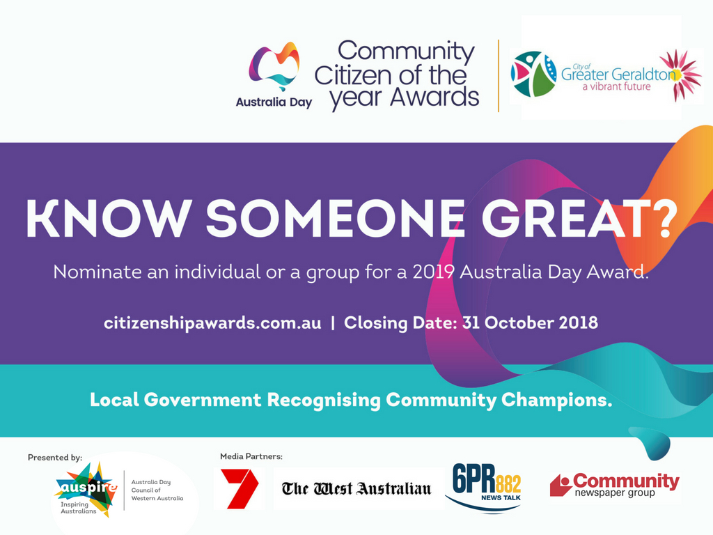 Community Citizen of the Year Awards | Greater Geraldton