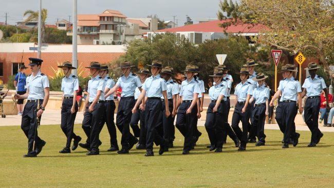 711 Cadets receive Freedom of Entry
