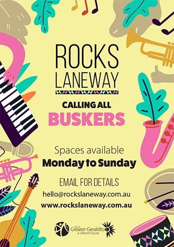Calling all buskers!