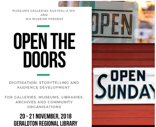 Open the Doors: storytelling, digitisation and audience development.