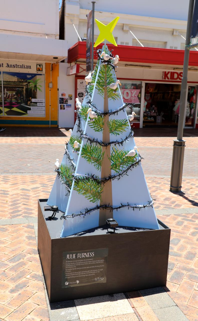 Christmas spirit springs to life in Marine Terrace