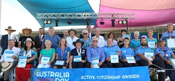 Local heroes recognised on Australia Day