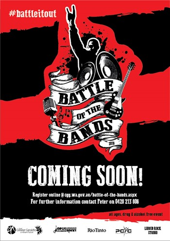 Battle of the Bands registrations now open