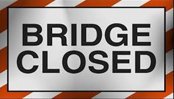 Permanent closure of Allen Road bridge
