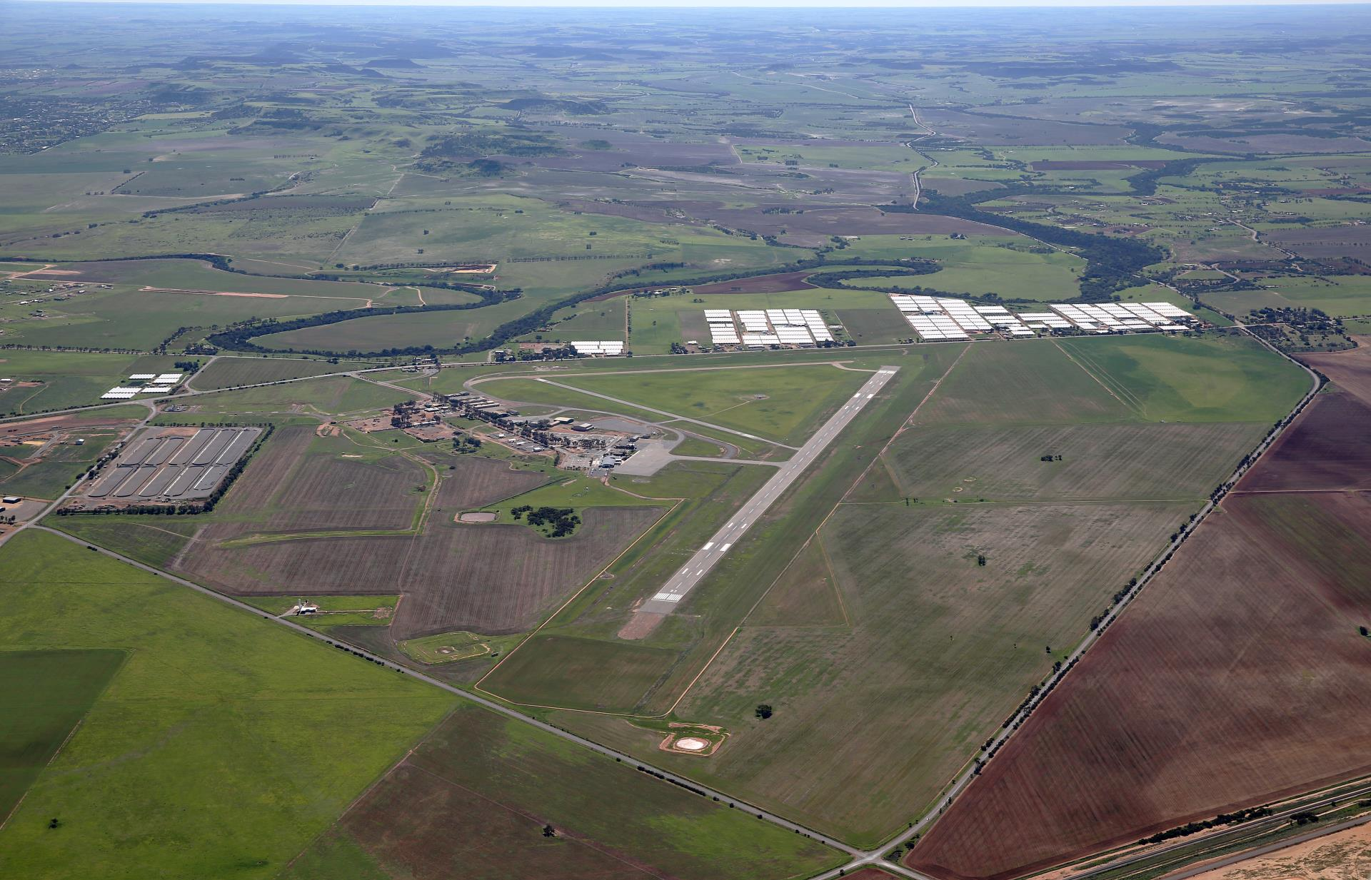 Airport precinct construction projects begin