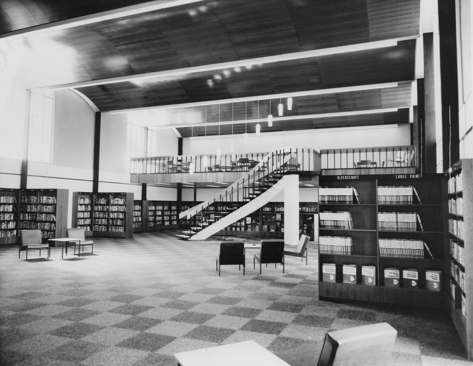 Library remains popular after 50 years of service