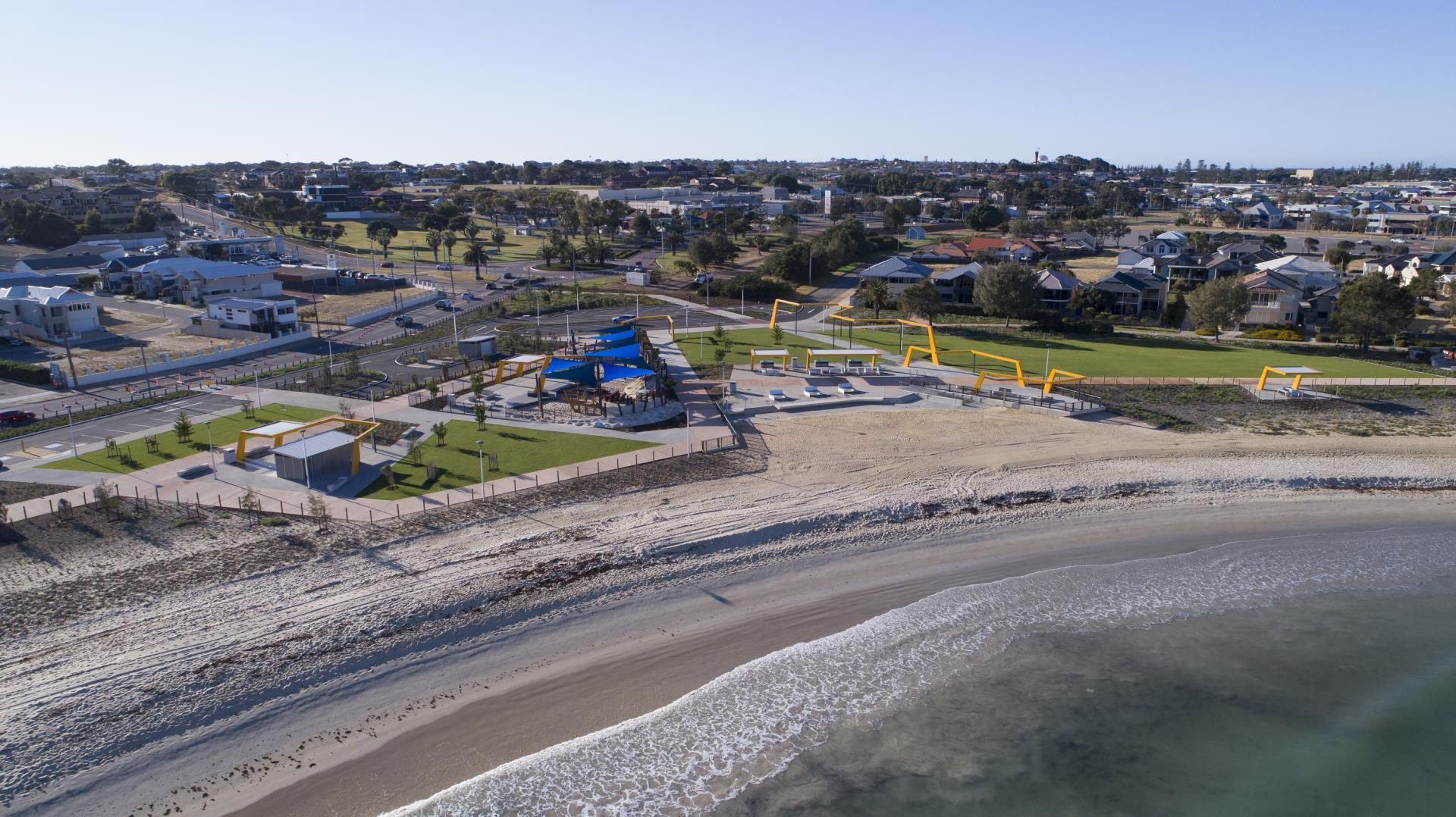 Foreshore activation on the menu