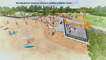 Beresford Foreshore activation gets green light