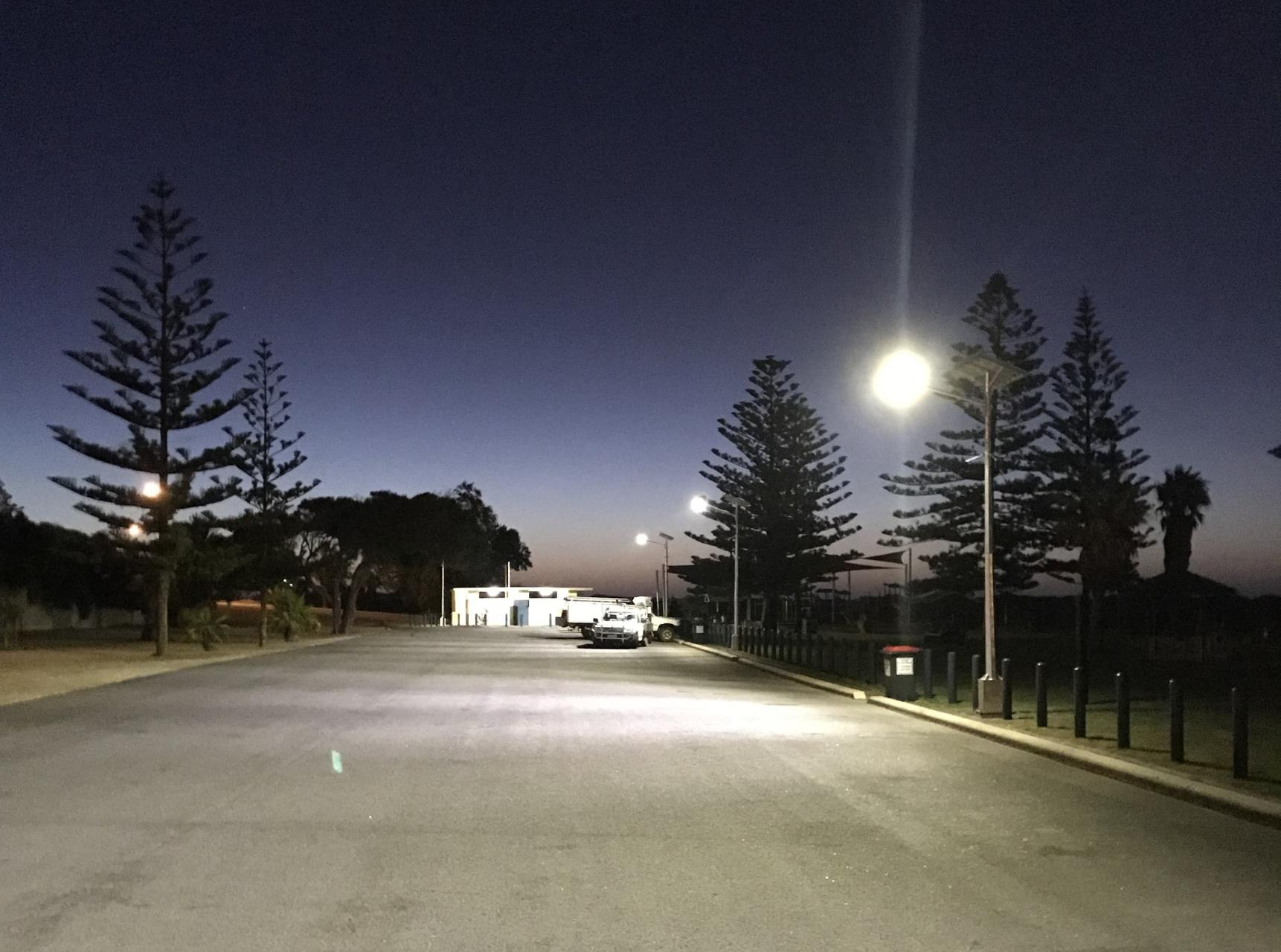 City switches to more solar lighting
