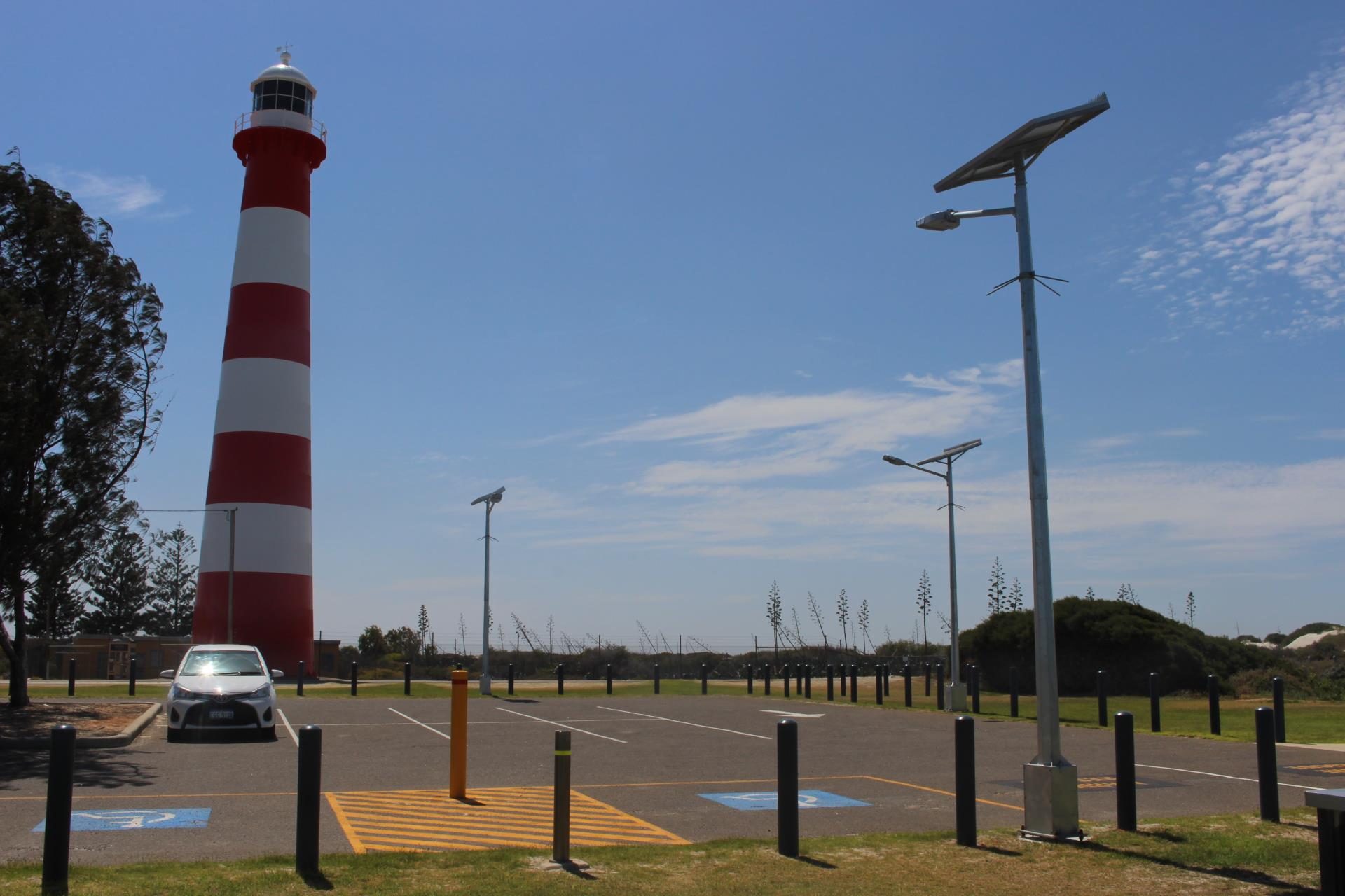 City installs sustainable carpark lighting at Point Moore