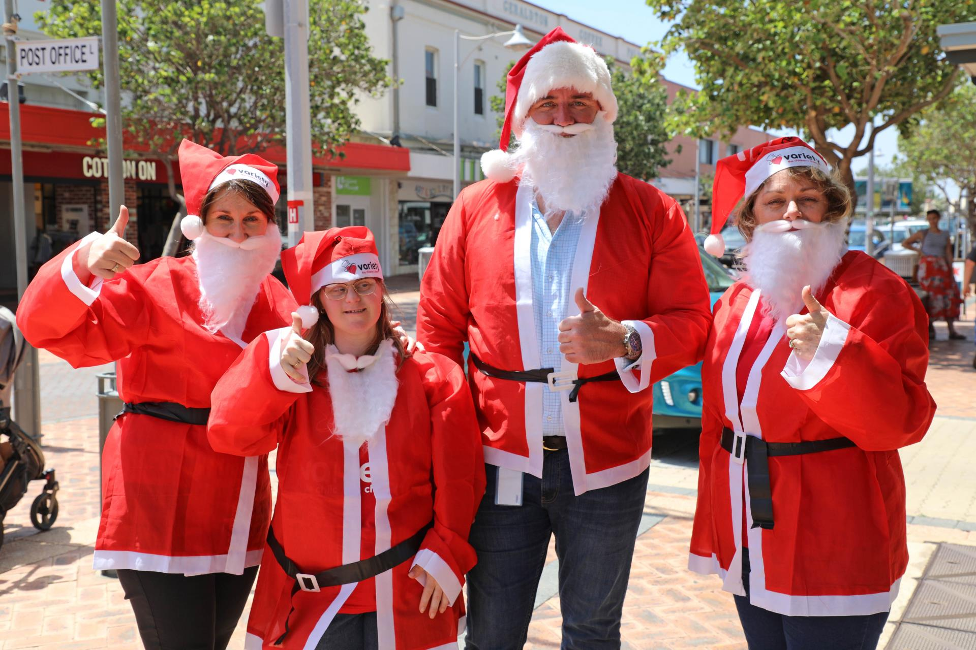 Santas to walk as part of Christmas on the Terrace