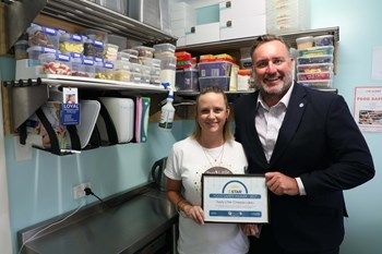 Small businesses clean up Food Safety Awards