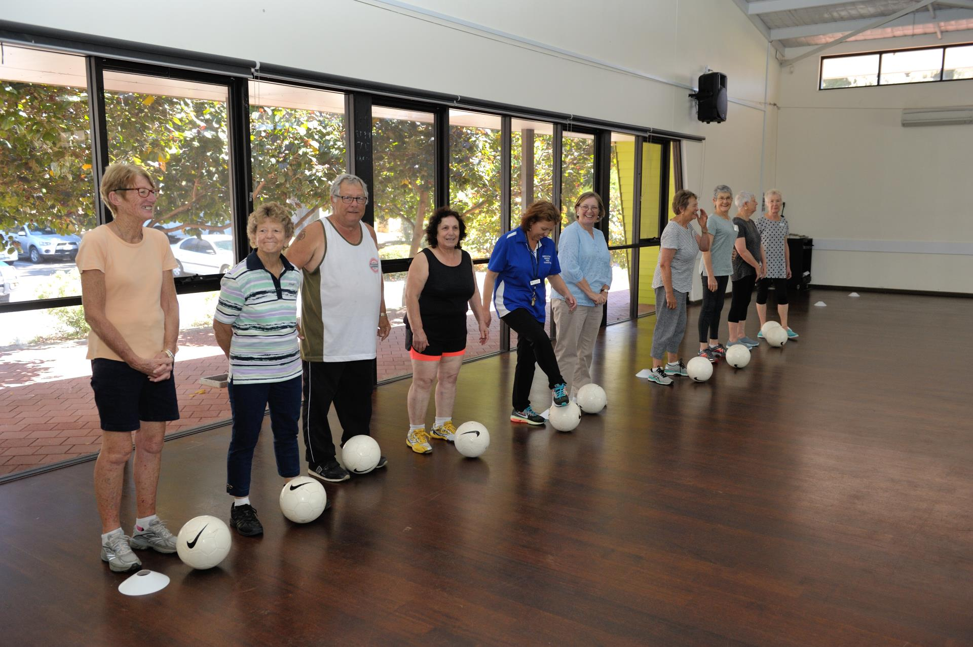 Walking football opens up for local seniors