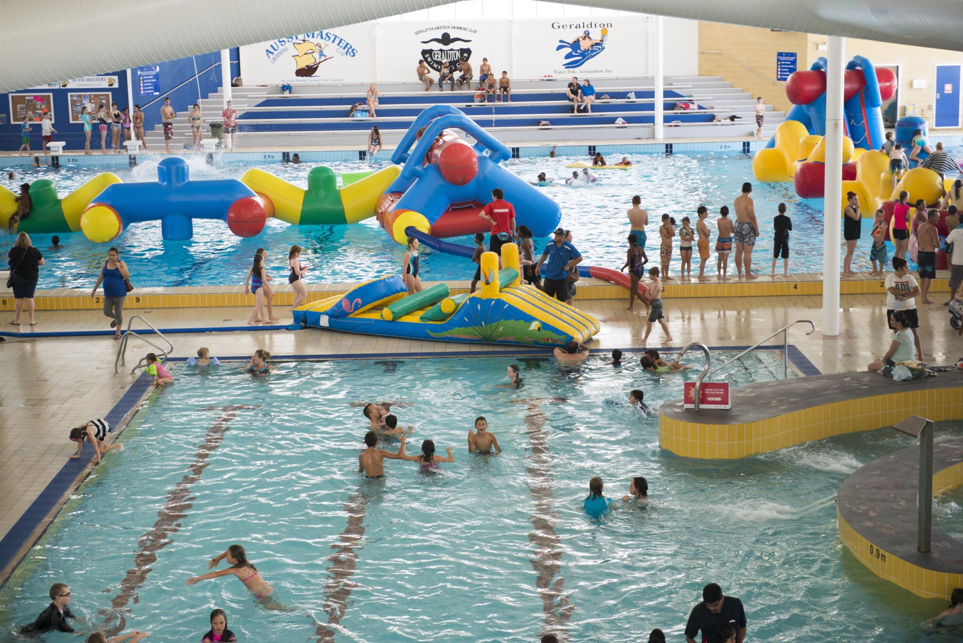 Annual Family Fun Day returns to Aquarena