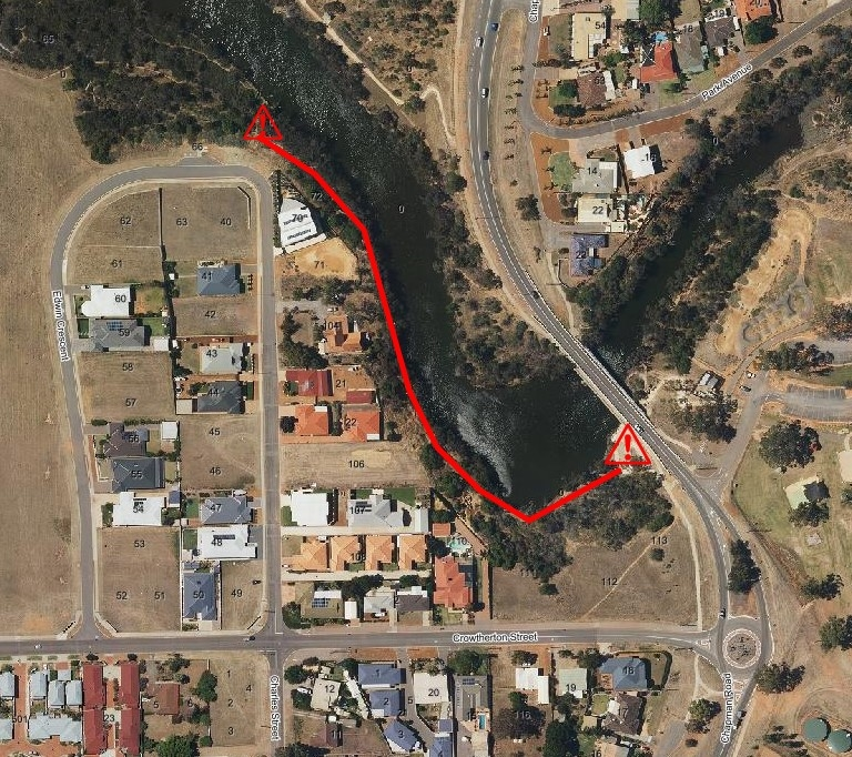 Temporary Chapman River Estuary Trail closure