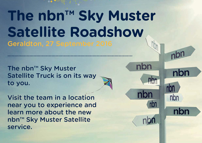 NBN Road Muster to hit Geraldton